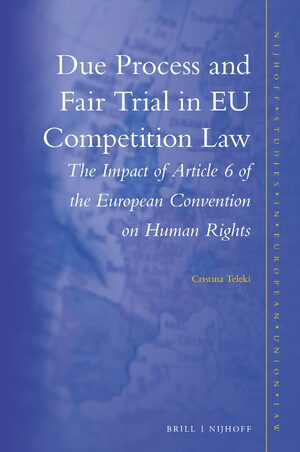 Cover Due Process and Fair Trial in EU Competition Law