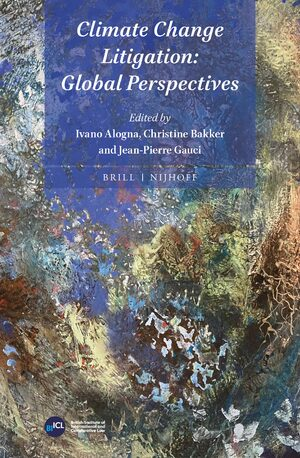 Cover Climate Change Litigation: Global Perspectives