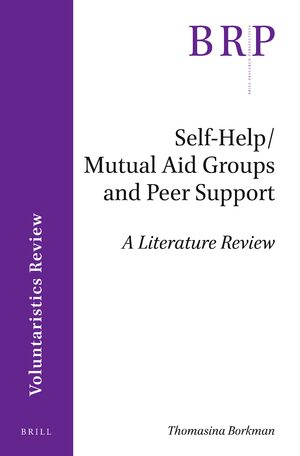 Cover Self-Help/Mutual Aid Groups and Peer Support