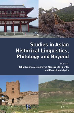 Cover Studies in Asian Historical Linguistics, Philology and Beyond