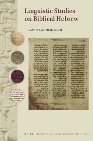 Cover Linguistic Studies on Biblical Hebrew