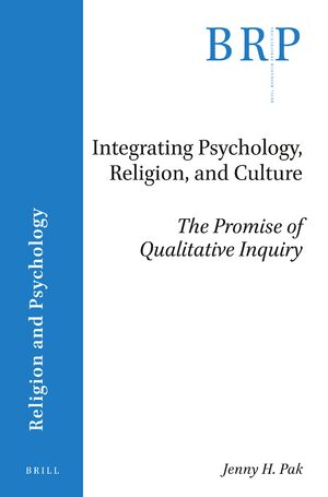 Cover Integrating Psychology, Religion, and Culture