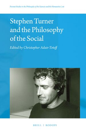 Cover Stephen Turner and the Philosophy of the Social