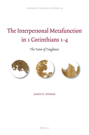 Cover The Interpersonal Metafunction in 1 Corinthians 1–4