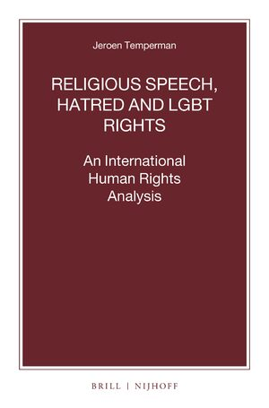 Cover Religious Speech, Hatred and LGBT Rights