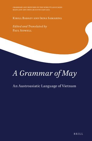 Cover A Grammar of May