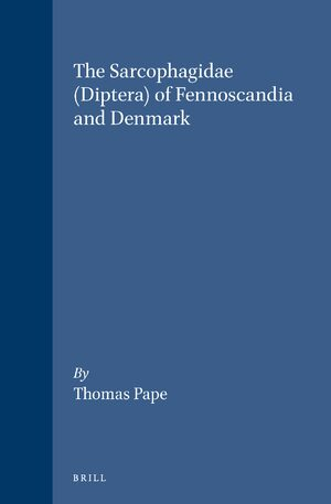 Cover The Sarcophagidae (Diptera) of Fennoscandia and Denmark