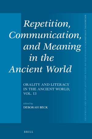 Cover Repetition, Communication, and Meaning in the Ancient World