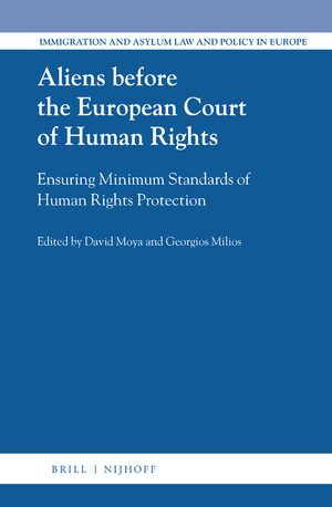 Cover Aliens before the European Court of Human Rights