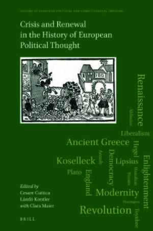 Cover Crisis and Renewal in the History of European Political Thought
