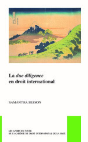 Cover La <i>due diligence</i> en droit international