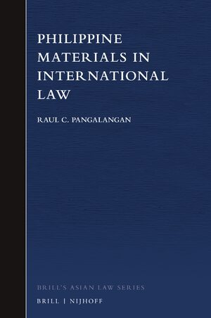 Cover Philippine Materials in International Law