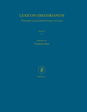 Cover Lexicon Gregorianum, Volume 4 Band IV ζ-ι