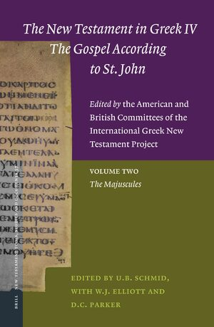 Cover The New Testament in Greek IV — The Gospel According to St. John. Edited by the American and British Committees of the International Greek New Testament Project