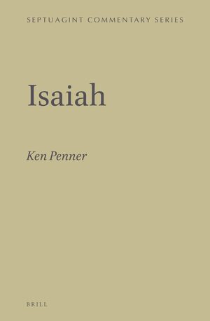 Cover Isaiah