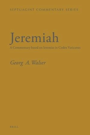 Cover Jeremiah