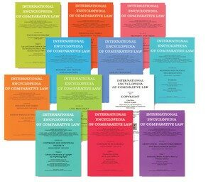 Cover International Encyclopedia of Comparative Law, Instalment 6
