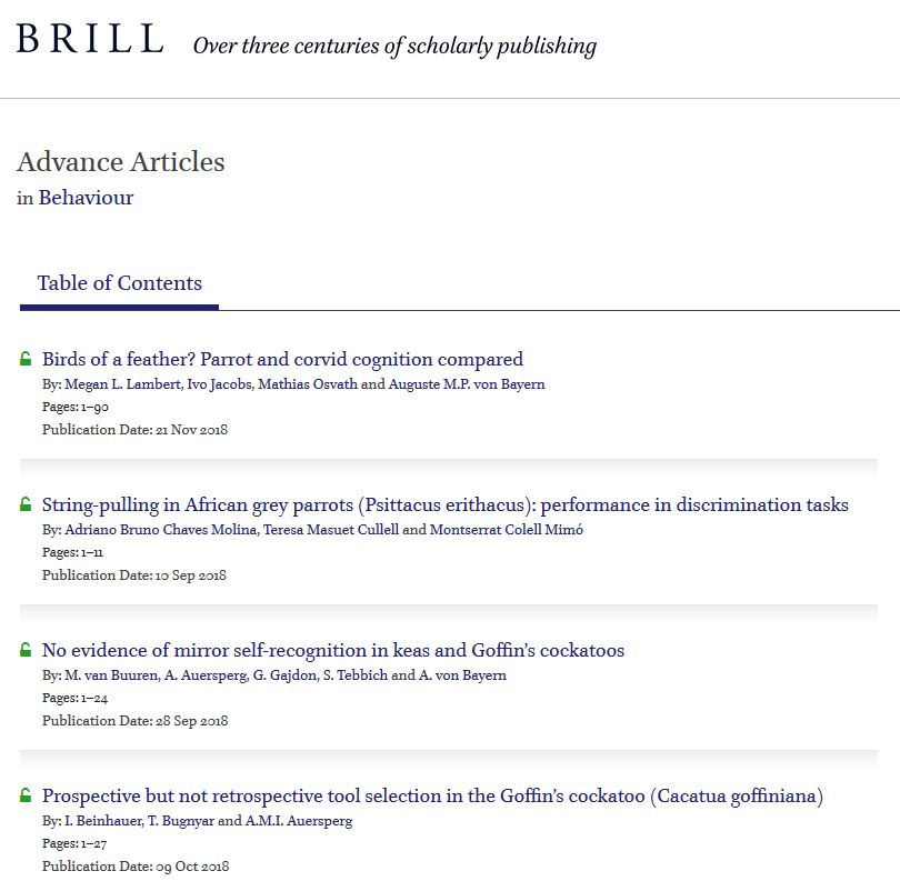 Publishing in a Brill Journal