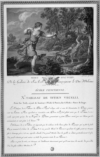Der Kupferstich als Prosaübersetzung. Denis Diderots Salon ...