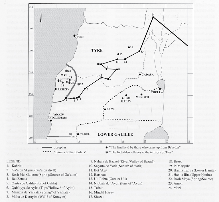 The Land in Rabbinic Literature in: Seeking out the Land: Land of