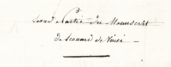 The Final Text in: The Fabrication of Leonardo da Vinci's