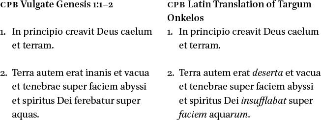 The Complutensian Polyglot Bible in: Justifying Christian Aramaism