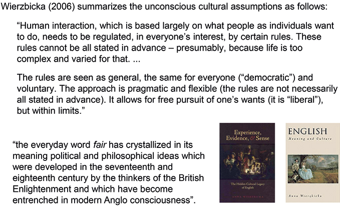 Words as Carriers of Cultural Meaning in: Ten Lectures on Natural