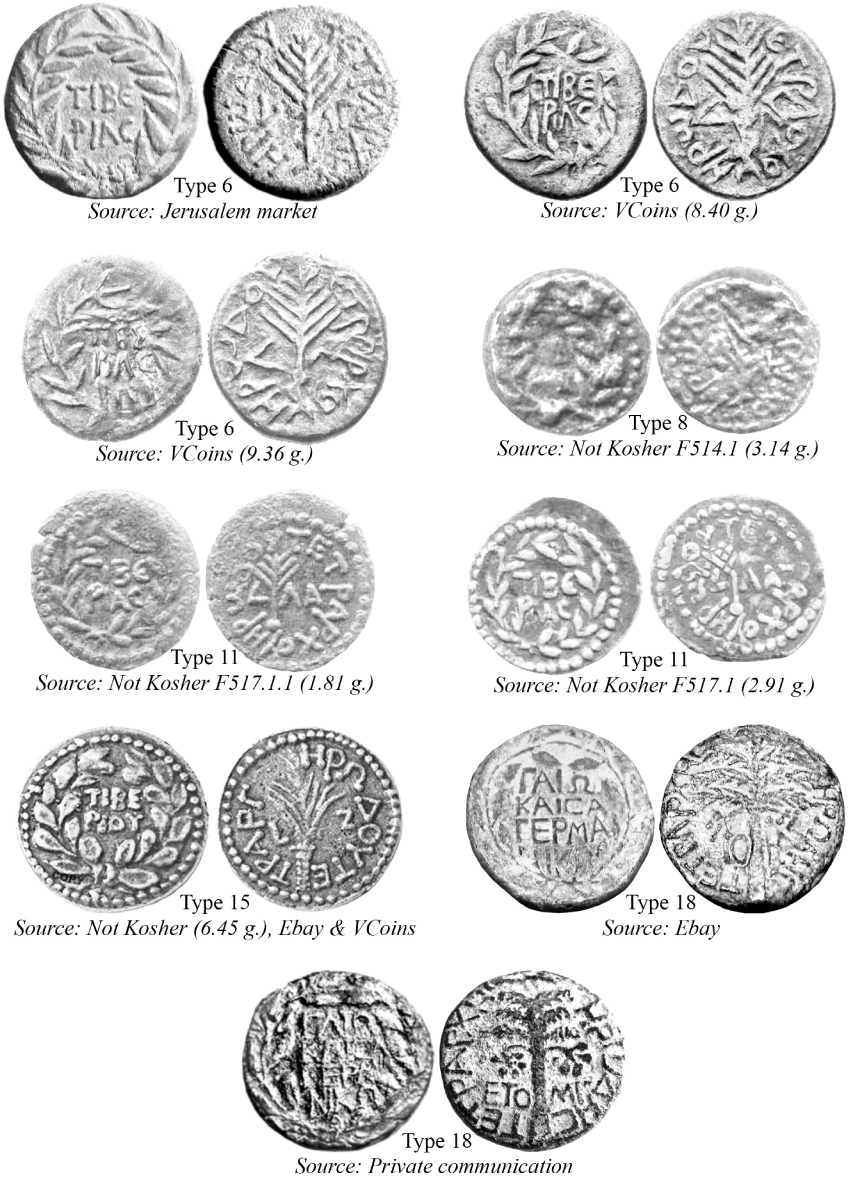 Tooled and Forged Coins in: The Coinage of Herod Antipas