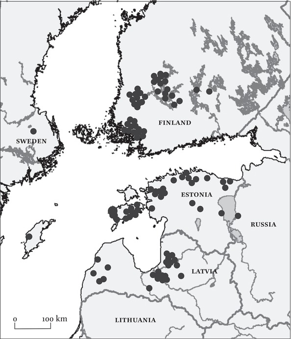Between Consolidating States: The Eastern Baltic Areas in