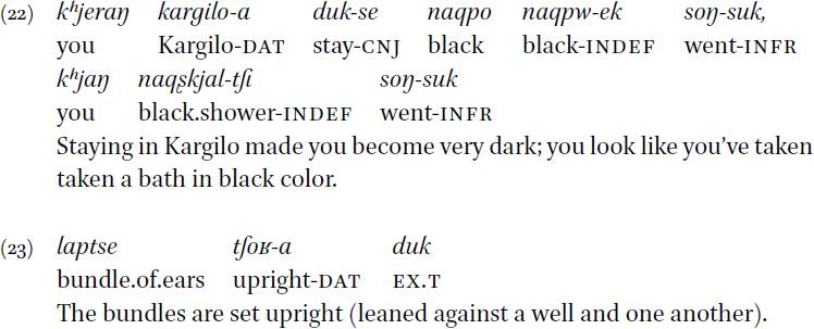 Noun Phrases in: A Grammar of Purik Tibetan