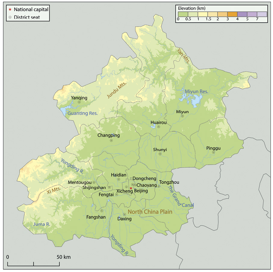 North China 华北地区 in: Atlas of Religion in China: Social ...