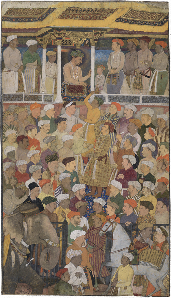 Concepts of Portraiture under Akbar and Jahangir in: Mughal