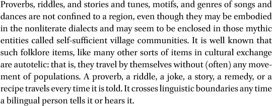 Prelude to the Folktales in: Annotated Texts in Beṭṭa Kurumba