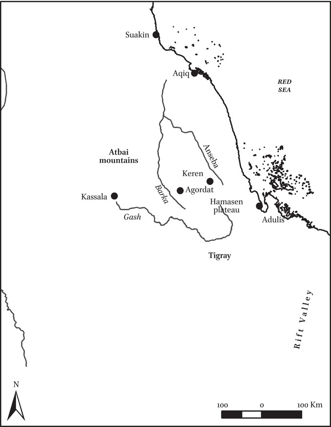 Long-Distance Routes Involved in the Punt Expeditions in