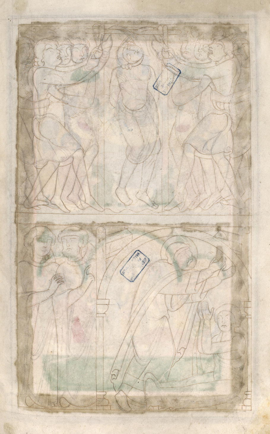The Cycle of the Life of Amand in Valenciennes, B M , MS 500