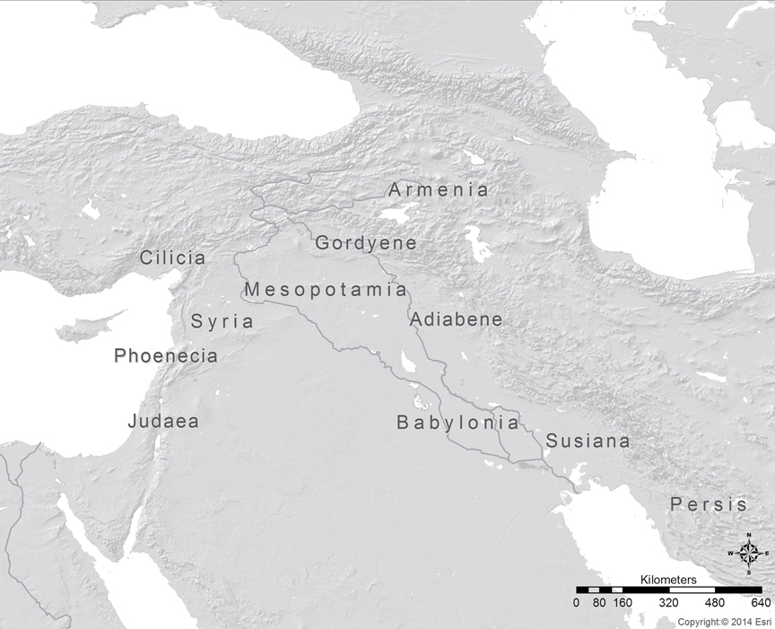 Naming In Making Mesopotamia Geography And Empire In A Romano Iranian Borderland