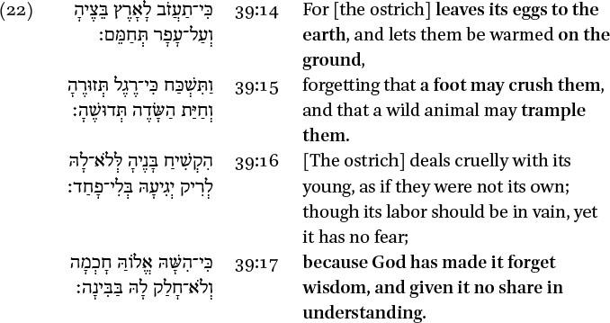 Spatial Configurations in the Divine Speech in: Metaphorical