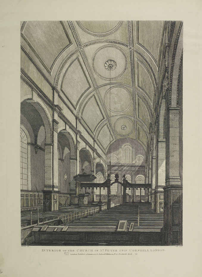 Saint Peter Cornhill, London in: Glorious Temples or