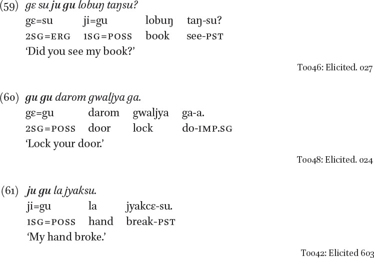 Morpho-Phonology in: A Grammar of Darma