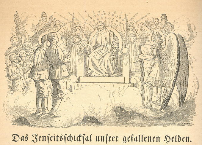 """Das """"Opfer für das Vaterland"""" in: Religiöses Wissen im"""