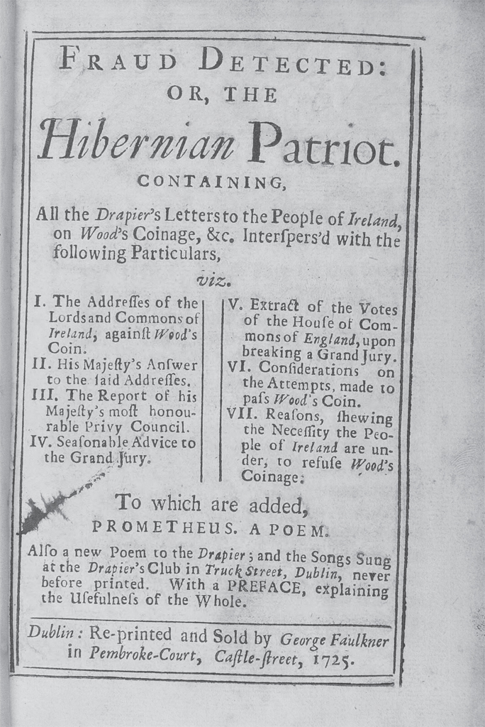 """With brisk merry lays"""": Songs on the Wood's Halfpence Affair"""