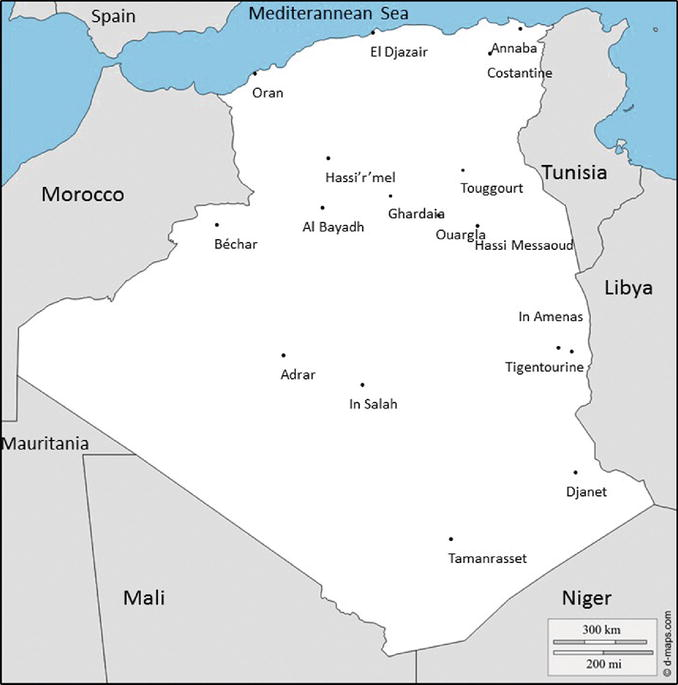 The Double Presence of Southern Algerians: Space, Generation and