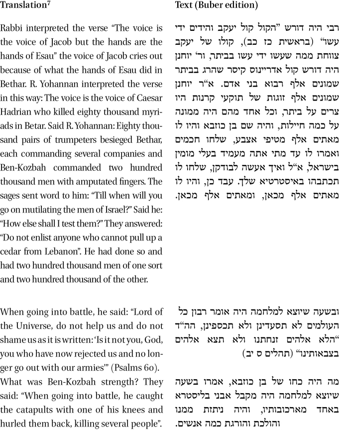 A Double Edged Sword—The Power of Bar-Kosibah: From Rabbinic