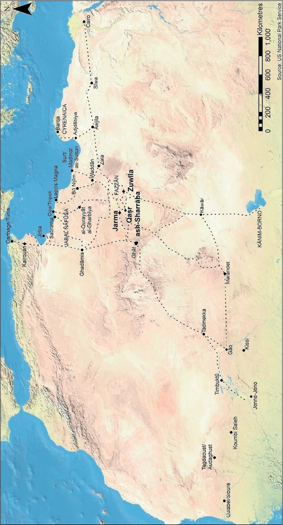 Zuwila and Fazzan in the Seventh to Tenth Centuries: The