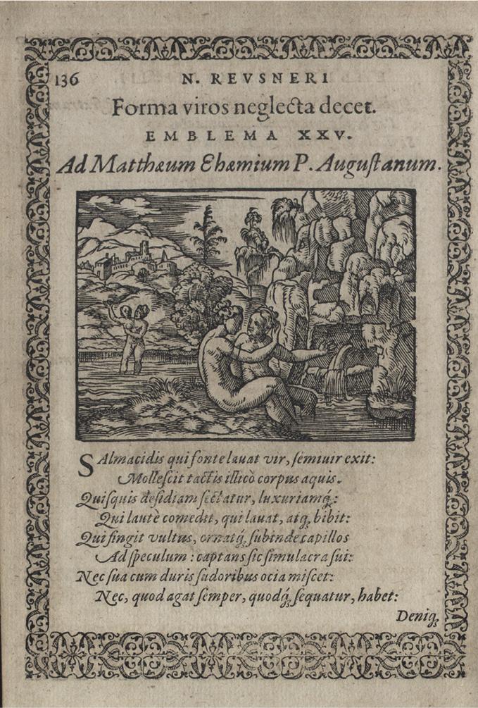 Salmacis Hermaphrodite And The Inversion Of Gender Allegorical