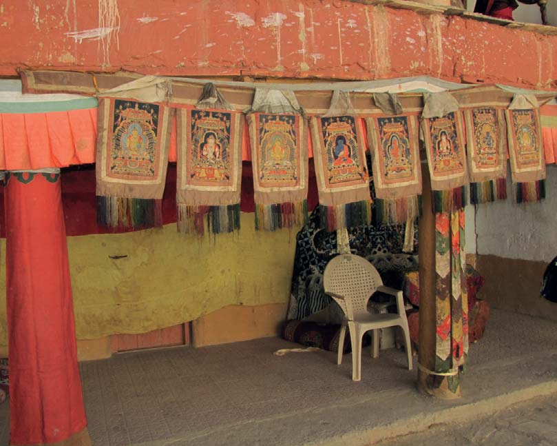 Noise along the Network: A Set of Chinese Ming Embroidered Thangkas