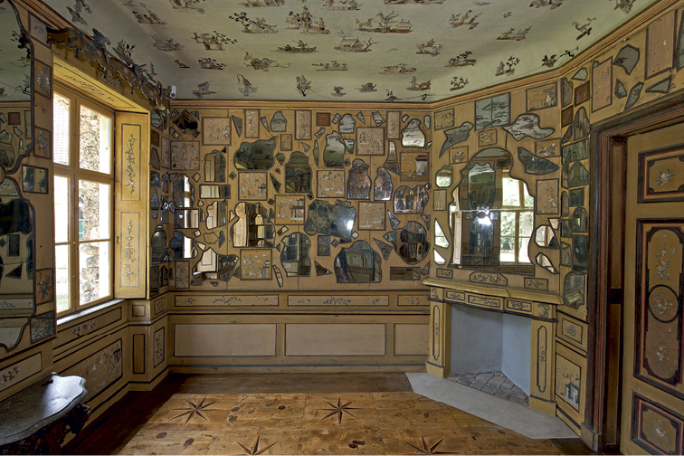 Mirrors and memories: the chinese mirror cabinet at the hermitage