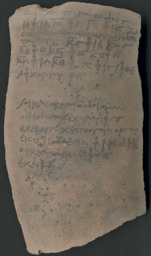 Writing on Ostraca: Considerations of Material Aspects in