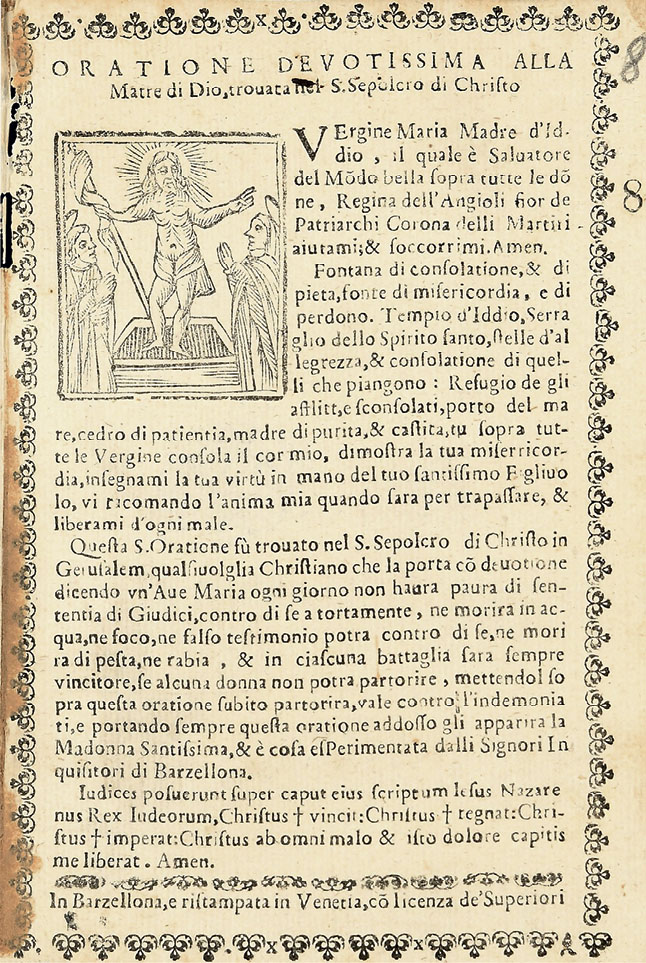 Material Prayers and Maternity in Early Modern Italy: Signed, Sealed