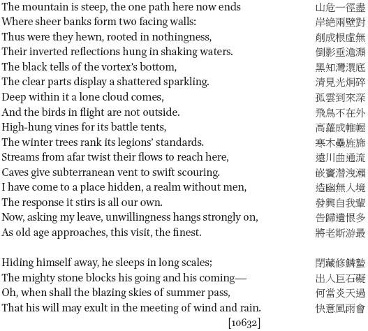 Tu Fu in: Critical Readings on Tang China